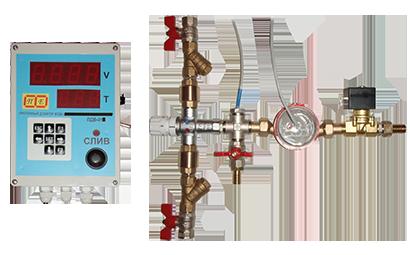 Проточный смеситель - дозатор воды - комплектные дозаторы - каталог продукции : ооо росат