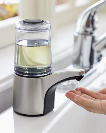 Дозатор для жидкого мыла от simplehuman