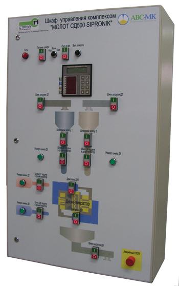 Avs-mk . авс-мк - отгружена система автоматического управления для комплекса sipronic.