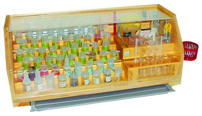 Набор посуды и принадлежностей для ученического эксперимента(стационарный)