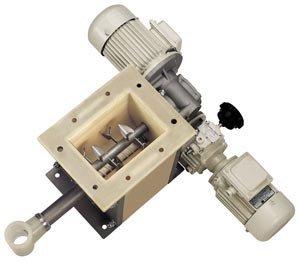 Объёмный микродозатор с вороши