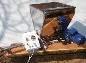 Минидозатор равномерной подачи - шнековый питатель