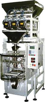 Аппараты серии нотис для весового дозирования с высокой точностью сыпучих пищевых продуктов в формируемые пакеты.
