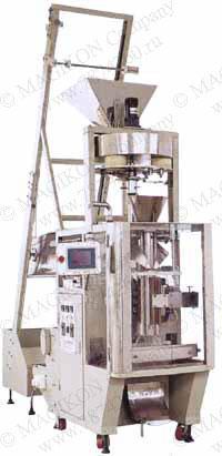 Упаковочный автомат для сыпучих гранулированных продуктов для фасовки до 1200 мл. цена, описание, продажа, фото