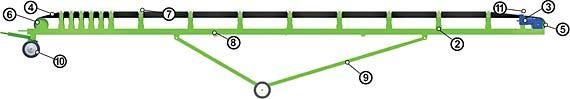 Ленточный транспортер (ленточный конвейер) - «техтрон»