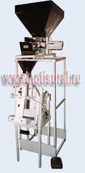 Дозирующий упаковочный полуавтомат для замороженных продуктов (широкий)
