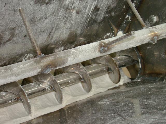 Шнековый дозатор - фасовка муки, цемента и другой пыли