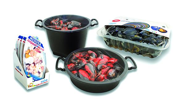 Найди свое решение для упаковки морепродуктов вместе с ilpra