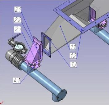 Распределитель потока рп-3.2 - распределитель потока, подача цемента