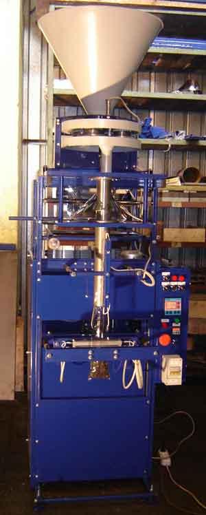 Автомат фасовочно-упаковочный для сыпучих продуктов с объемным дозатором