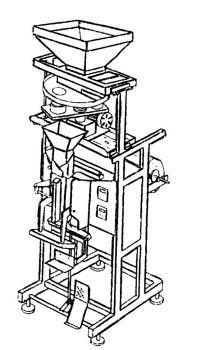 Машина упаковочная полуавтоматическая с объемным дозатором