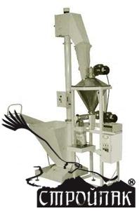 Объемный дозатор д-03-п для фасовки пылящих продуктов - стройпак